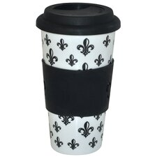 KitchenWorthy Fleur De Lys Insulated Tumbler