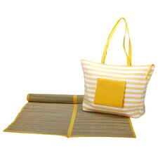 Worthy Beach Tote and Mat Set