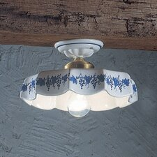Belluno 1 Light Semi-Flush Mount