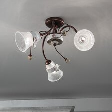 Venezia 3 Light Semi-Flush Mount