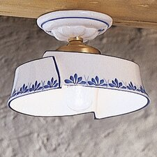 Rimini 1 Light Semi-Flush Mount