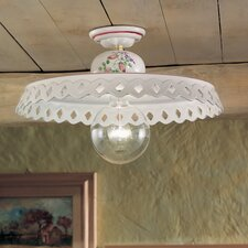 Perugia 1 Light Semi-Flush Mount