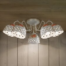 Verona 5 Light Semi-Flush Mount