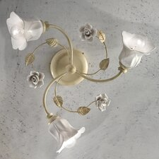 Firenze 3 Light Semi-Flush Mount