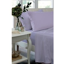 Non Iron Percale Combed Poly-Cotton Fitted Sheets