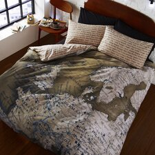 Map Duvet Set