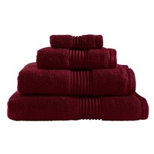 Zero Twist Bath Sheet in Claret