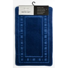 Armoni 2 Piece Bath Set in Navy