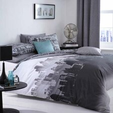 CL Home City Scape Duvet Set