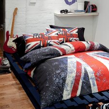<strong>Catherine Lansfield</strong> CL Home Rock UK Duvet Set