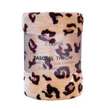 Designer Cheetah Raschel Throw