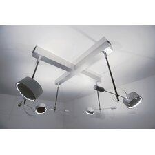 <strong>Absolut Lighting</strong> Absolut 4 Light Ceiling Light