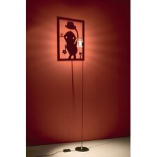 Shining Image Floor Lamp- Man with Hat Wall