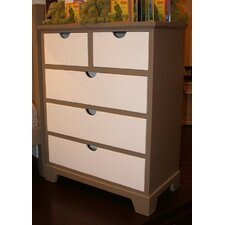 <strong>Newport Cottages</strong> Andie 5 Drawer Chest