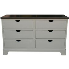 <strong>Newport Cottages</strong> Andie 6 Drawer Dresser