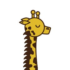 Animals Giraffe Wall Plaque