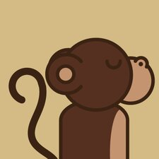 Animals Monkey Print