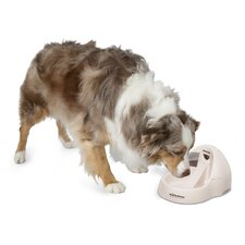 Deluxe Fresh Flow Pet Fountain in Bleached Linen - 108 oz.