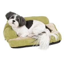 Chaise Bolster Dog Bed in Assorted