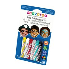 <strong>SnazarooUSA</strong> Face Paint Stick Boy (Set of 6)