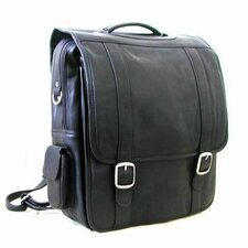 <strong>Le Donne Leather</strong> Convertible Leather Laptop Briefcase