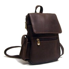 <strong>Le Donne Leather</strong> Distressed Leather Women's Backpack