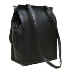 <strong>Le Donne Leather</strong> Zip Top Tote Bag