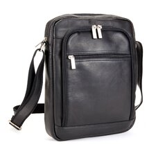 <strong>Le Donne Leather</strong> iPad/E-Reader Day Shoulder Bag