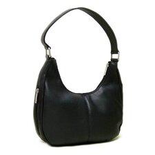 Single Handle Side Zip Hobo Bag