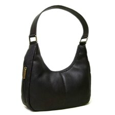 Single Handle Side Zip Hobo Bag