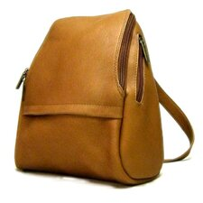 <strong>Le Donne Leather</strong> U-Zip Mini Backpack