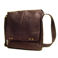 <strong>Le Donne Leather</strong> Messenger Bag