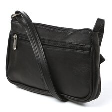 <strong>Le Donne Leather</strong> Simple Flap Over Shoulder Bag