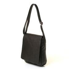 Flap Over Vertical Shoulder Bag