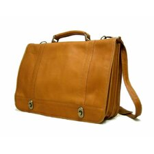 <strong>Le Donne Leather</strong> Twist Briefcase