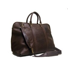 "25"" Distressed Leather Getaway Travel Duffel"