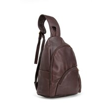 <strong>Le Donne Leather</strong> Unisex Sling Backpack