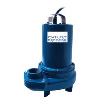 1/2 HP Sewage Submersible Pump with 1.6 Amps Manual Operation