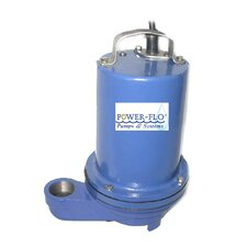 1/2 HP Effluent Submersible Pump with 7 Amps Manual Operation