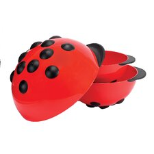 <strong>Boston Warehouse Trading Corp</strong> Animal House Ladybug Mixing Bowls
