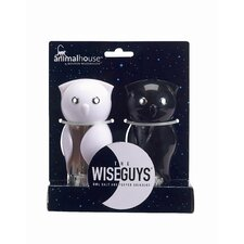Wise Guy Salt and Pepper Grinder Set