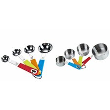 <strong>Neway International Housewares</strong> Cook N Home 8 Piece Measuring Spoon and Cup Set