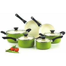<strong>Neway International Housewares</strong> Cook N Home Nonstick 10-Piece Cookware Set