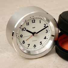 <strong>Bai Design</strong> Landmark Astor Aluminium Travel Alarm Clock