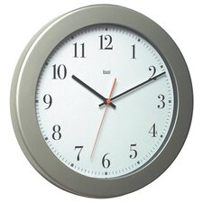 Madison Modern Wall Clock in White