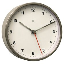 Designer Wall Clock in Helio White