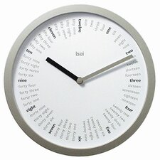 "<strong>Bai Design</strong> 10"" Spellbound Designer Wall Clock"