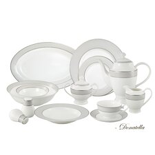 <strong>Lorren Home Trends</strong> La Luna 57 Piece Dinnerware Set