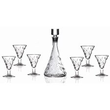 Laurus Crystal 7 Piece Liquor Set