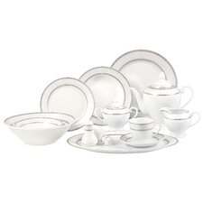 <strong>Lorren Home Trends</strong> Sirena 57 Piece Dinnerware Set